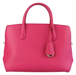 Dior Christian Bar Bar Tote Tote Satchel in Fuchsia Pink