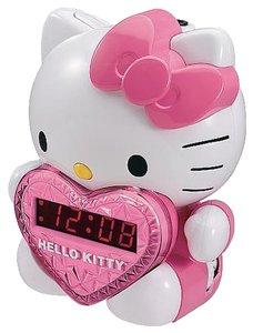 Hello Kitty Hello Kitty AM/FM Projection Alarm Clock Radio