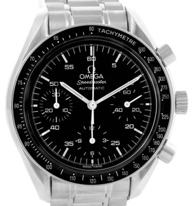 Omega Omega Speedmaster Reduced Black Dial Automatic Mens Watch 3510.50.00