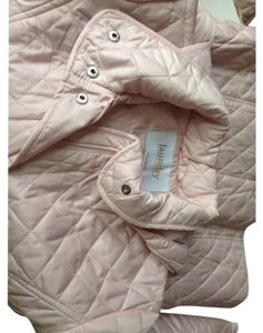 Laundry by Shelli Segal diamond-quilted powder pink Jacket