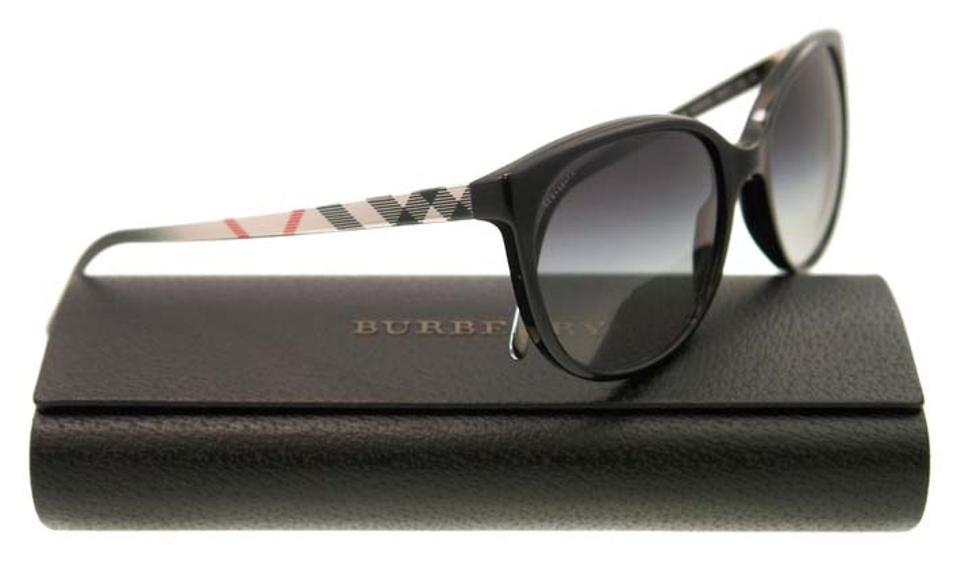857472b8ed57 Burberry New Burberry Sunglasses Women BE 4146 Black 3406/8G BE4146 55mm  Image 0 ...