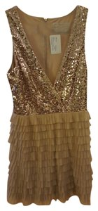 Badgley Mischka Cocktail Sequined Dress