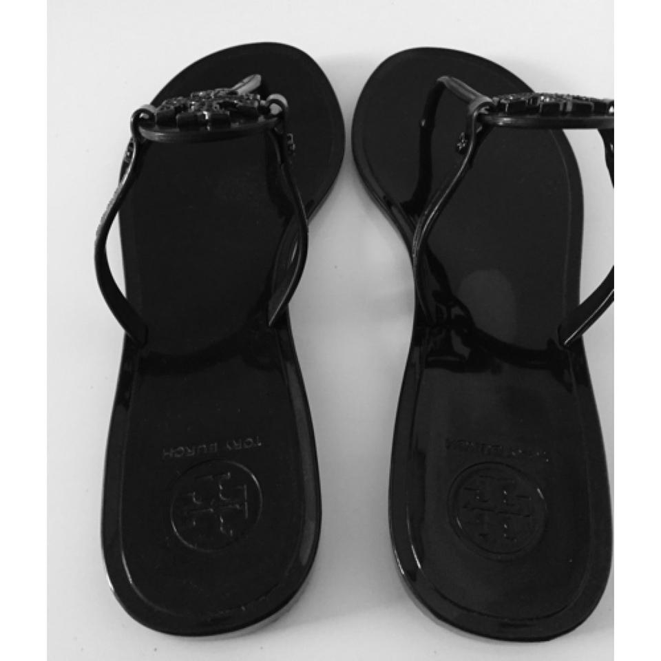 be5cb6ea3183ea Tory Burch Mini Miller Thong Jelly Crystals Flip Flop Miller Miller  Crystals Coach Pool Pool Jewelry. 123456789