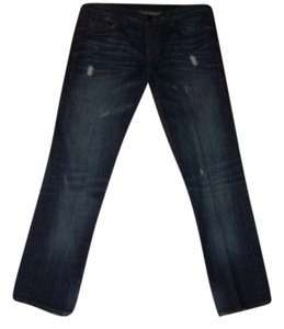 William Rast Christian Audigier Skull Denim Studded Embroidered Embellished Designer Denim Skinny Jeans-Distressed
