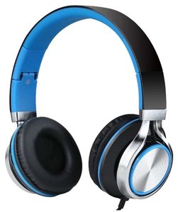 Sound Intone Sale - Sound Intone Strong Low Bass Headphone - Folding Gaming Earphones - Black/Blue