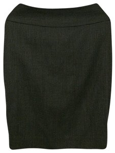 Ann Taylor Knee Length Pencil Skirt Black