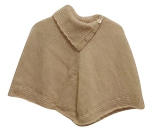 Gap The Wool Lambswool Poncho Cape Knit Sweater