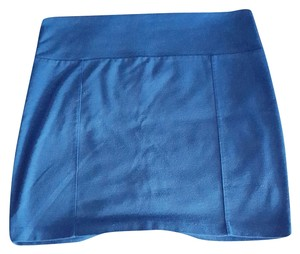 Decree Short Mini Skirt Blue
