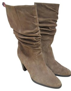 Alean Leather Brown Boots