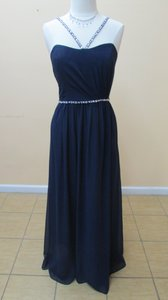 Alfred Angelo Navy 8103l Dress