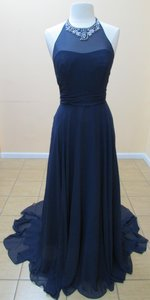Alfred Angelo Navy 8108l Dress
