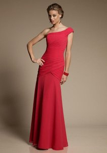 Mori Lee Red 641 Dress