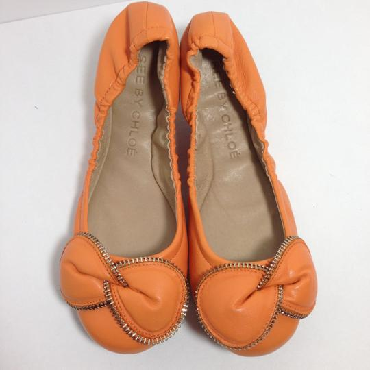 See by Chloé Baby Orange Flats