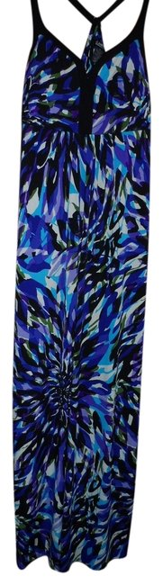 purple Maxi Dress by Other Summer Padded