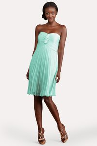 Donna Morgan Spearmint Polyester Hallie Destination Bridesmaid/Mob Dress Size 4 (S)