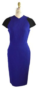 Victoria Beckham Sheath Royal Dress