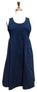 J. Jill short dress Dark Blue Turquoise on Tradesy