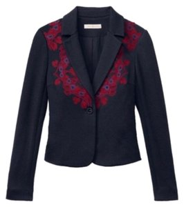 Tory Burch Navy and Red Blazer