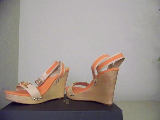 Ralph Lauren Orange/Khaki Wedges