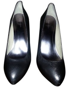 Calvin Klein Pewter Pumps