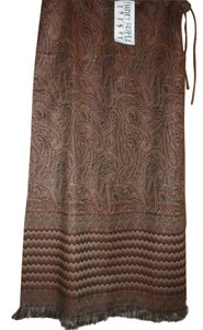 Funky People Boho Fringe Hem Maxi Skirt