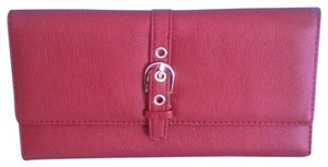 Other Red Buckle Wallet