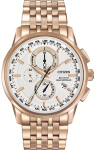 Citizen Citizen Men Rose Gold Analog Watch AT8113-55A