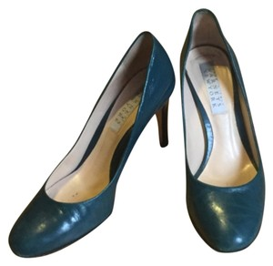 Barneys New York Turquoise Pumps