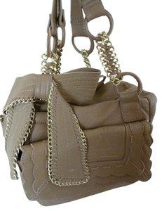 Vince Camuto Supple Leather Chain Accent Shoulder Bag