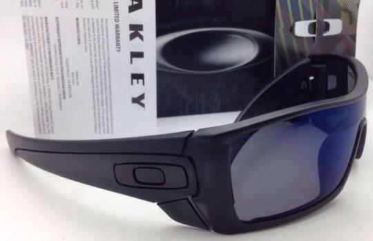 0bcb57cca5 Oakley Batwolf Oo9101-36 130 Matte Black Ink Polarized W Ice Iridium  Sunglasses -