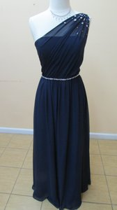 Alfred Angelo Navy 8109l Dress