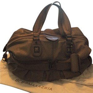 BCBGMAXAZRIA Satchel in Smoke Grey