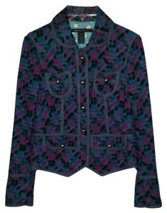 Marc Jacobs Designer Statement blue Blazer