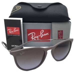 Ray-Ban New Ray-Ban Sunglasses ERIKA RB 4171 6000/68 Sand Frame w/ Brown Gradient Violet