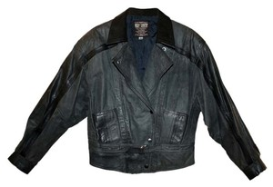 Whipp Country Vintage Leather Distresses Leather Jacket
