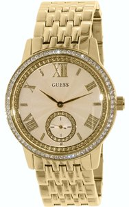 Guess Guess Women's Gold Tone Analog watch U0573L2