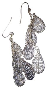 Claire's Dangle wire wrapped drops