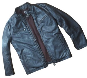 Just Cavalli Mens Leather Mens Moto Leather Leather Moto #cavalli Designer Mens Leather Vince Motorcycle Jacket
