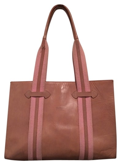 Preload https://img-static.tradesy.com/item/864279/claudia-firenze-tote-bag-tan-pink-864279-0-0-540-540.jpg