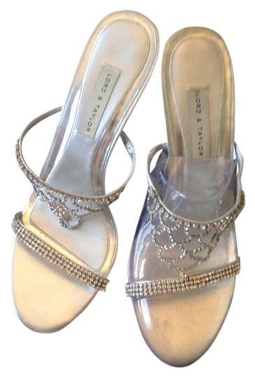 Taylor Diamond Silver Formal Shoes Size