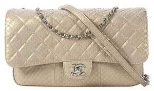 Chanel Gold Python 2012 Shoulder Bag