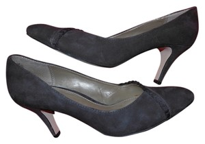 Liz Claiborne Suede Heels Rosie Brown Pumps