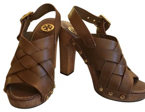 Tory Burch Tan/camel brown Platforms