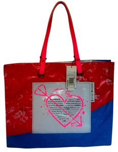 Isabela Capeto Eco-friendly Shopper Recycled Material Recycle Green Rare Extra Large Reusable Tote in Multi-color