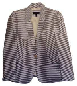 J.Crew Blue and white seersucker Blazer