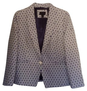 J.Crew Blue and white Blazer