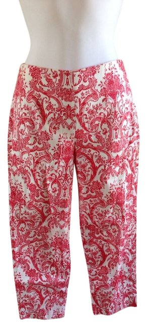 Other Capris Red/White Image 0