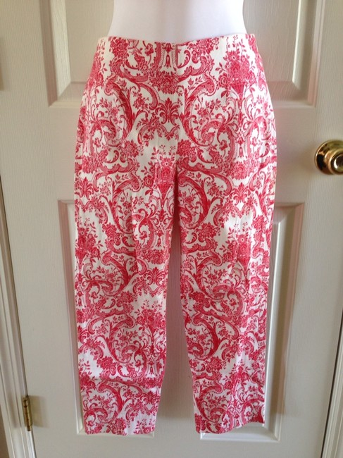 Other Capris Red/White Image 1
