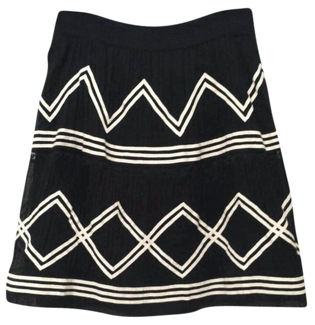 Anthropologie Skirt Black and White