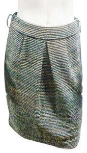 St. John St Couture Tweed Skirt multi-color